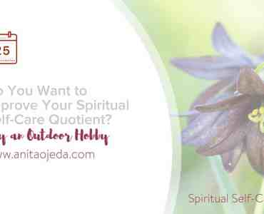 Is spirituality the same as religion? And why do we need to work on our spiritual self-care quotient? Find out! #spirituality #religion #Christianity #awe #wonder #gratitude #meaningoflife #hobby #optoutside #greenexercise #hiking #mtbiking #snorkeling #birding