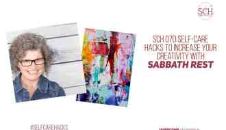 Who knew you could increase your creativity with Sabbath rest? It took me a while to figure it out, and I'll share four hacks for increasing your creativity with Sabbath rest on today's podcast. #creativity #creative #SabbathRest #celebration #goals #accomplishments #artist #creator #writer #amwriting #ampainting