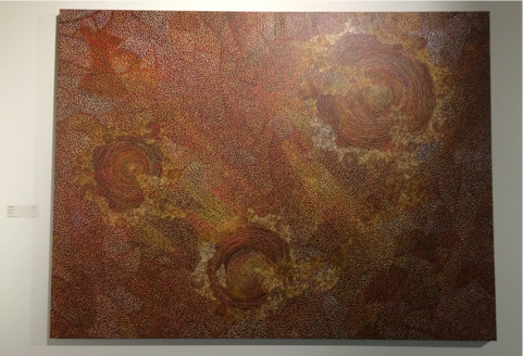 aboriginal art features in the Holmes a Court collection
