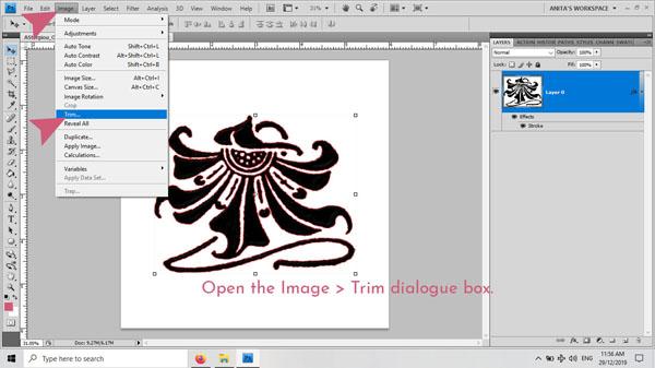 Anita Richards Designs | Digiscrap 1173 | Tutorial: How to Safely Trim Away Excess Pixels image 05