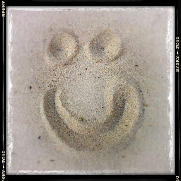 Smile Again: Day 1 Beach Sand