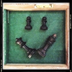 Smile Again: Day 29 Chess Pieces in Box