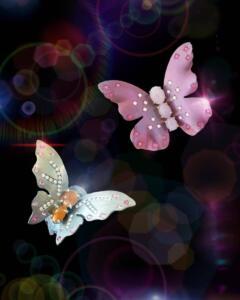 Little butterflies