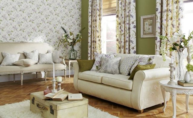 Botanica Collection i-Live Fabrics Anitas Soft Furnishings Warner Street Accrington