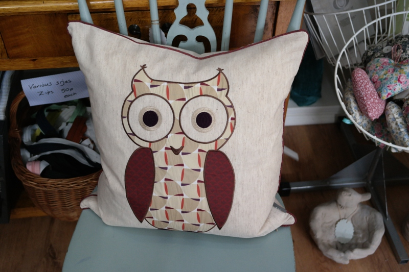 iLiv Twit Twoo Owl Cushion Anitas Soft Furnishings Accrington