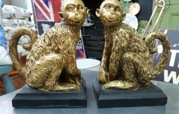 Monkey Book Ends