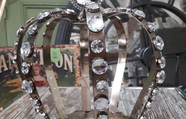 Large Crown Chrystal Ornament