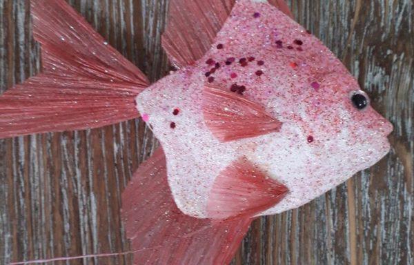 Pink Hanging Fish