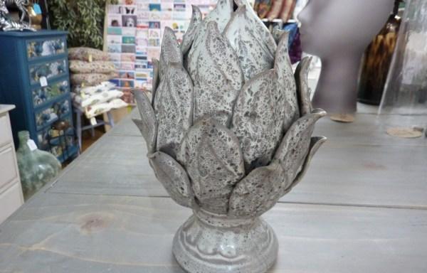 """Ceramic Artichoke Decoration 9"""" Tall £25"""