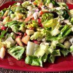 Chopped Autumn Salad with Maple Vinaigrette