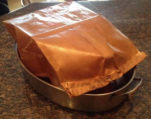 Roast Turkey in a Brown Paper Bag
