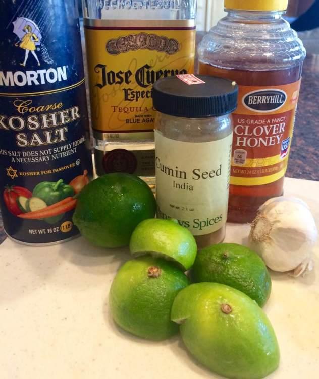 Fajita Salad Ingredients