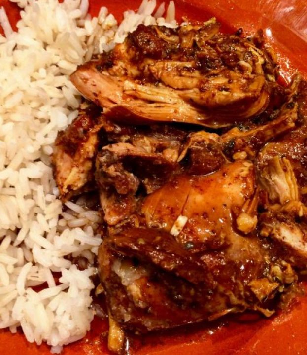 Balsmaic Chicken the Slow Cooker Way