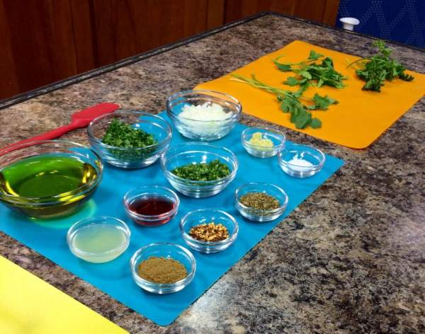 Chimicurri Ingredients