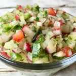 Cucumber and Raidsh Salsa