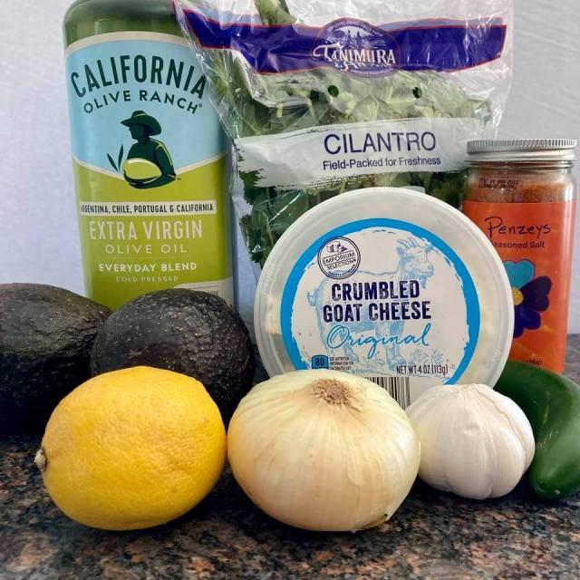 Avocado Dip Ingredients