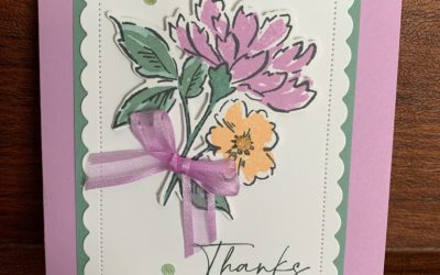 Hand-Penned Petals and New In Colors!