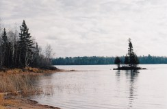 northern lake in area of proposed copper mine, MN