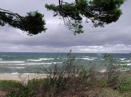 straight-line winds over Superior on the UP