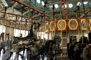 a merry-go-round