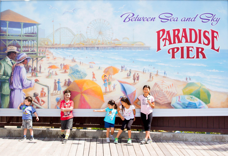 Disney california adventure kids
