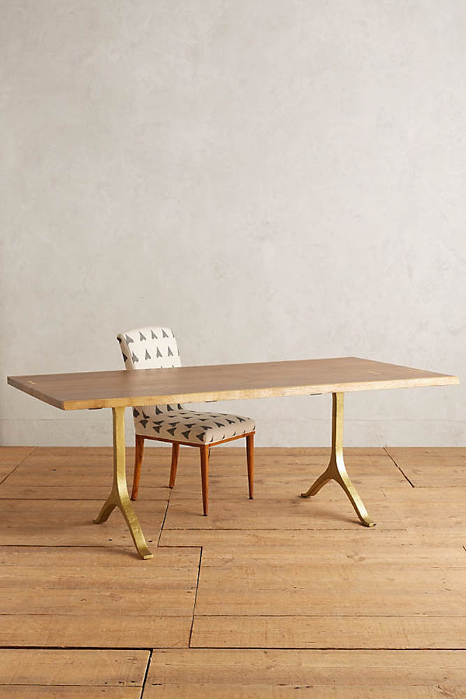 anthropologie nemus dining table