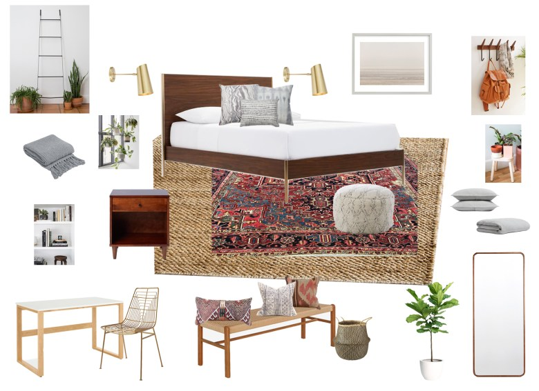 anita yokota master bedroom mood board california eclectic design