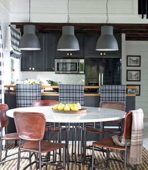 country living magazine Brian Patrick Flynn eat in kitchen