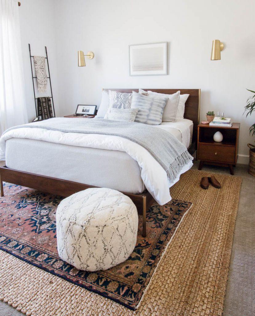 west elm bedroom parachute home scandiboho