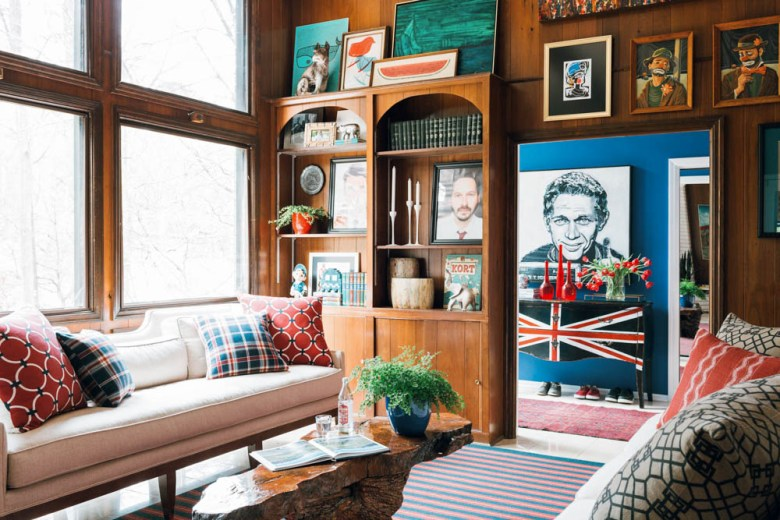 country living magazine Brian Patrick Flynn lounge
