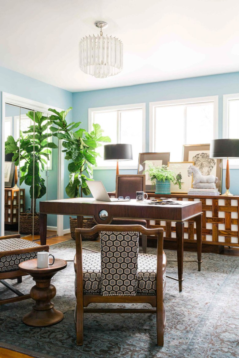 country living magazine Brian Patrick Flynn office