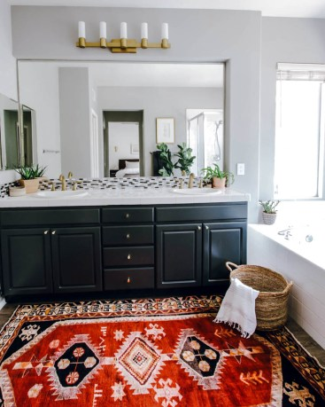 DIY Master Bathroom Transformation