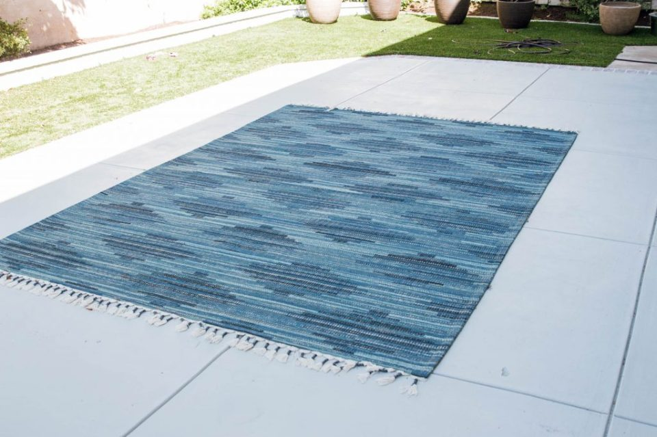Anita Yokota method cement pad front porch paint sherwin williams target outdoor rug