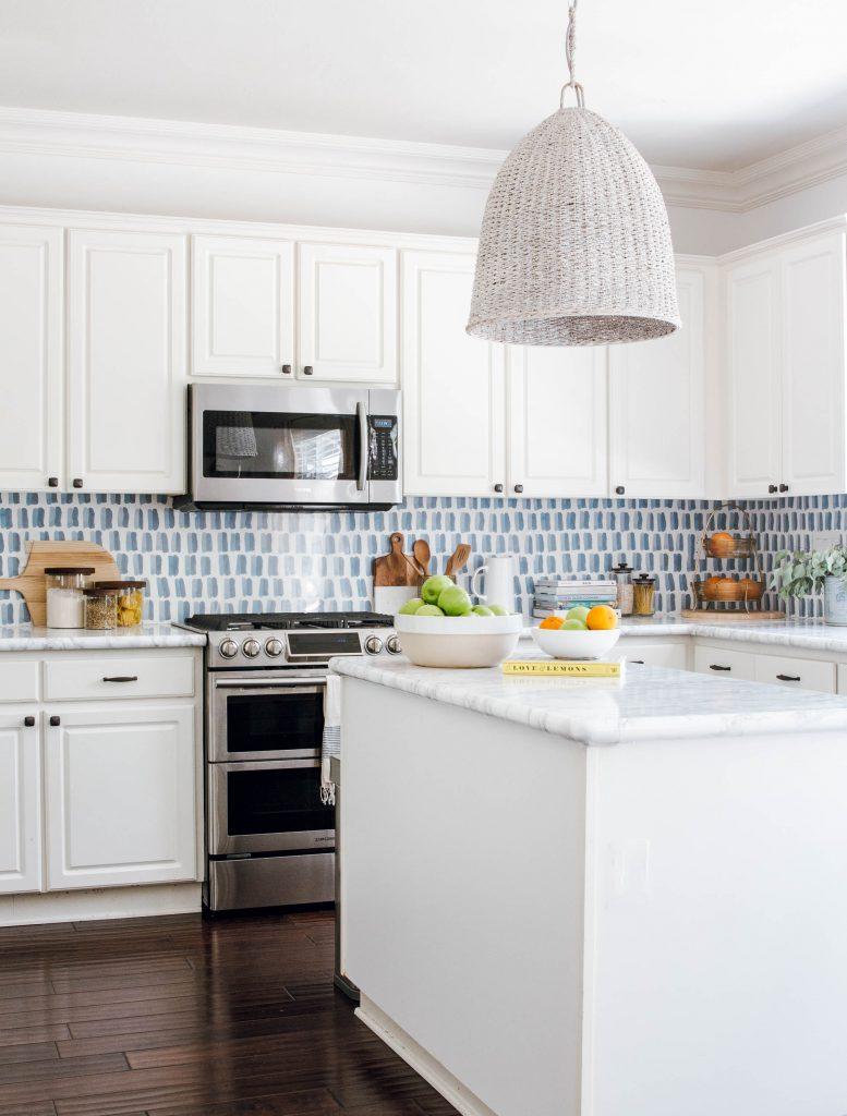 kitchen DIY backsplash wallpaper