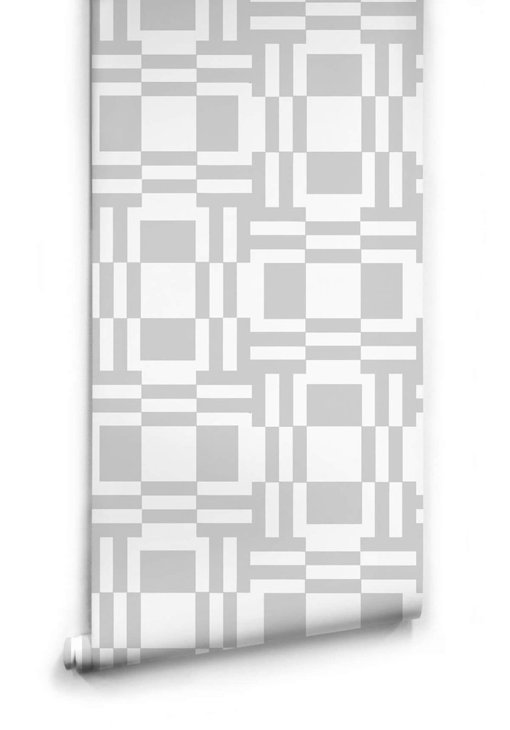 grey abstract geometric shape wallpaper
