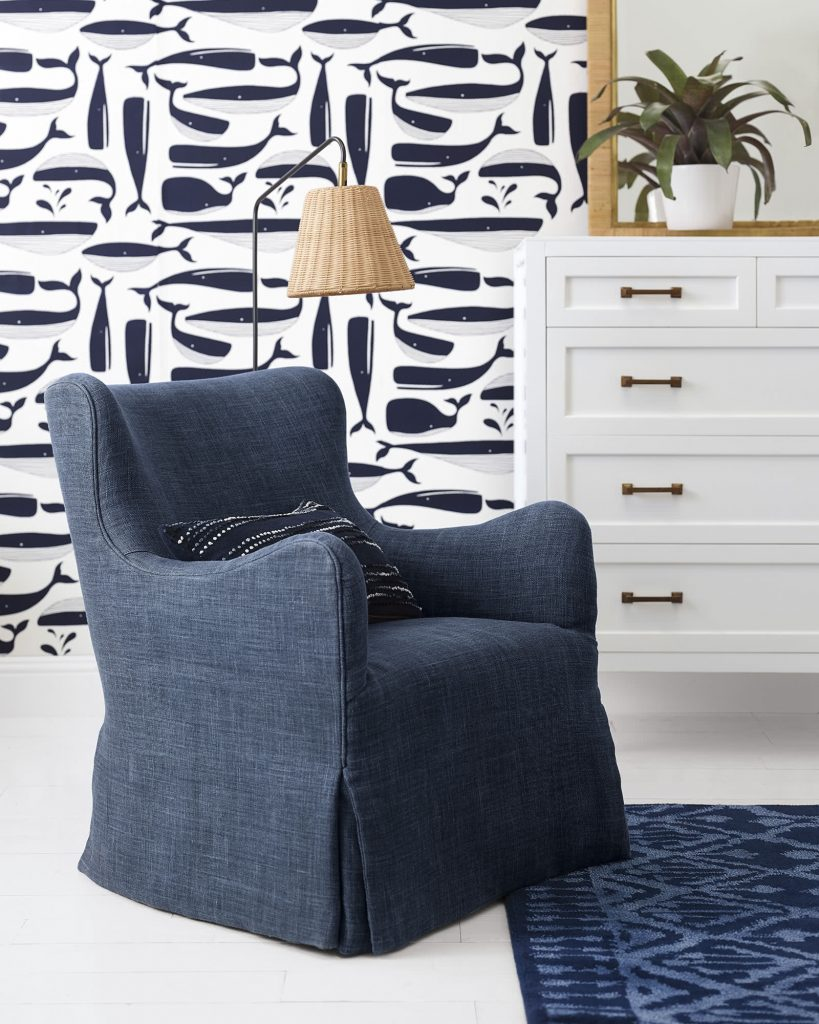 Serena and lily swivel chair