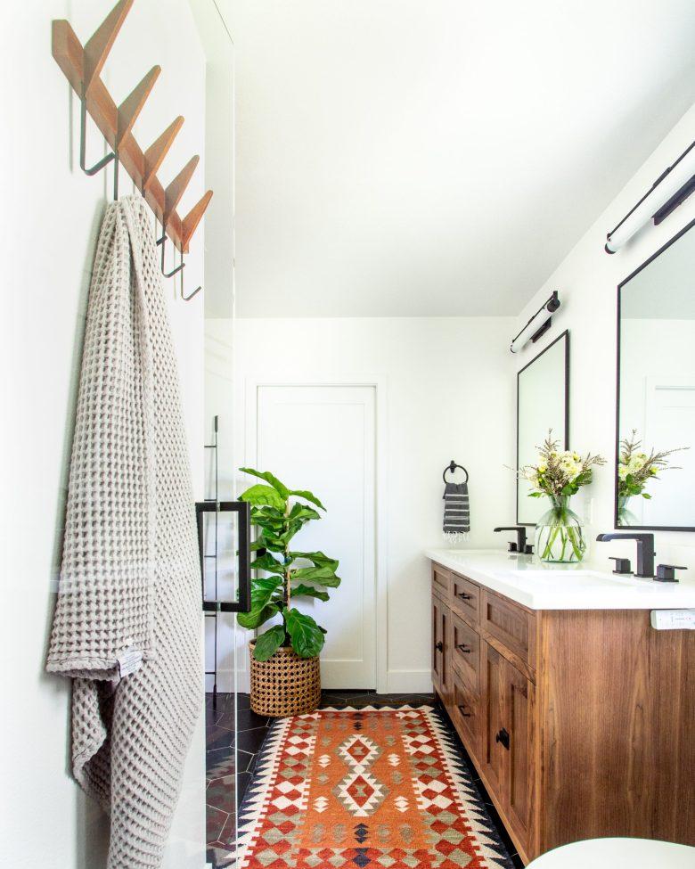 Anita Yokota Method mid century dream bathroom