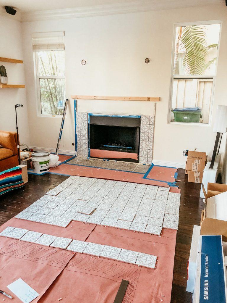 dry lay tile fireclay tiles