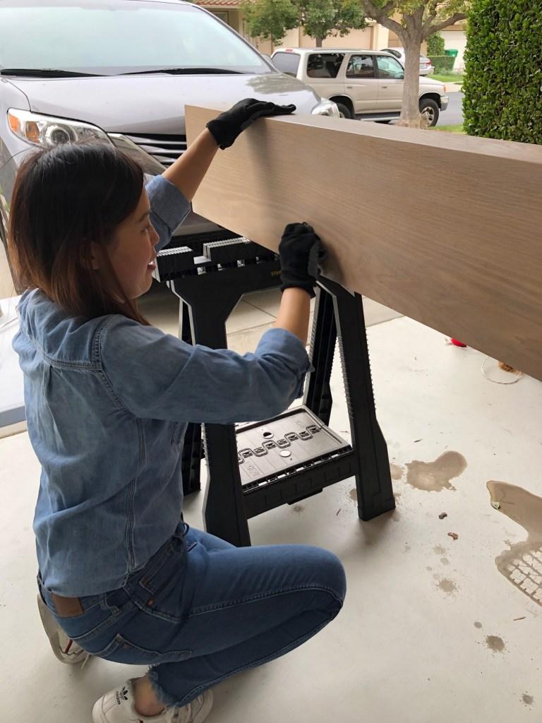 Anita Yokota method anitayokota.com diy mantel