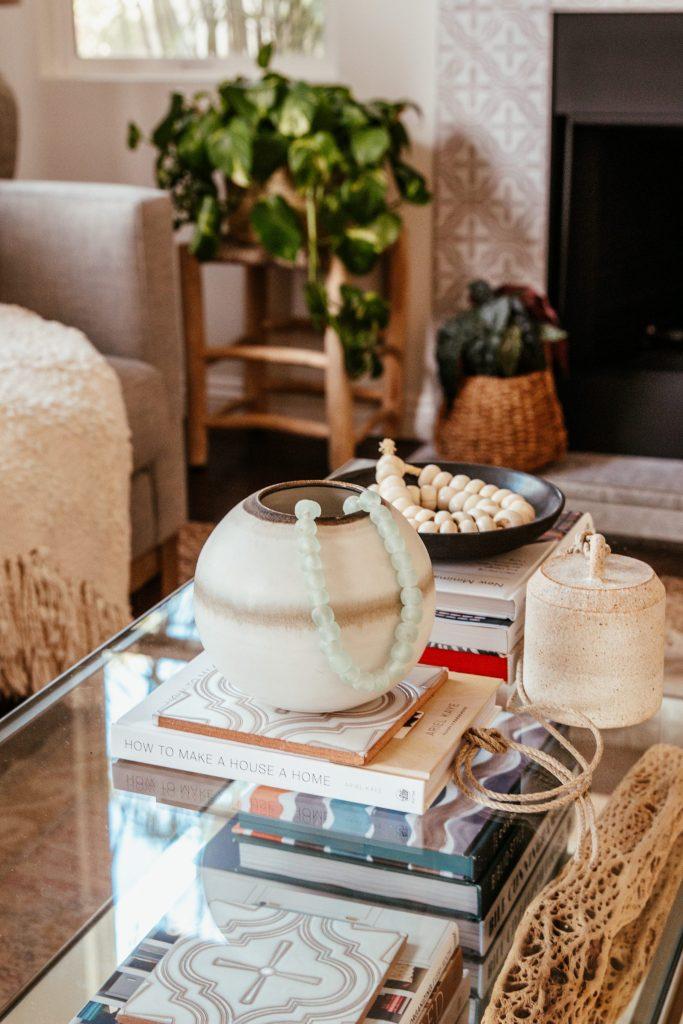 pottery barn coffee table sofa