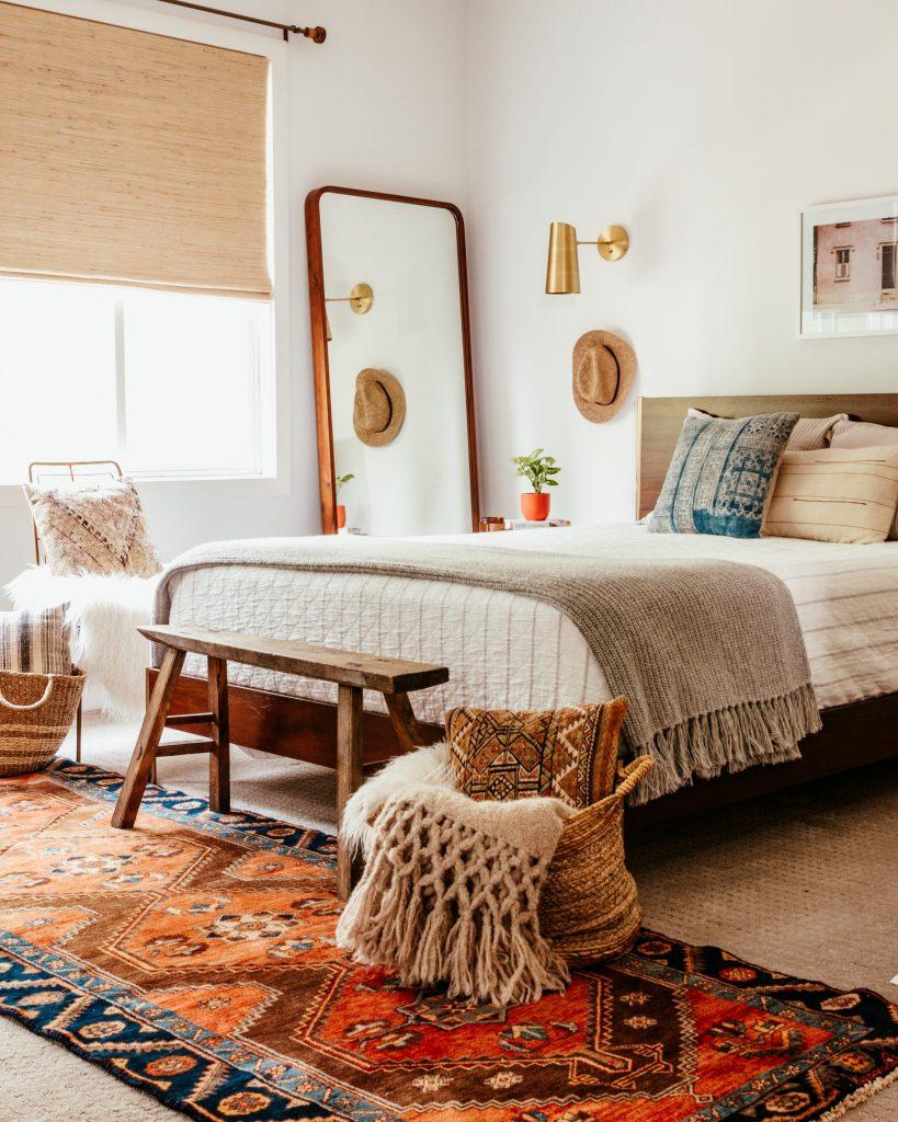 Anita Yokota method boho bedroom