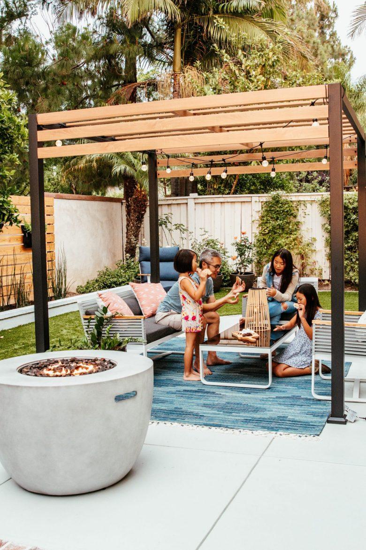 Anita Yokota method outdoor DIY makeover SW paint front porch