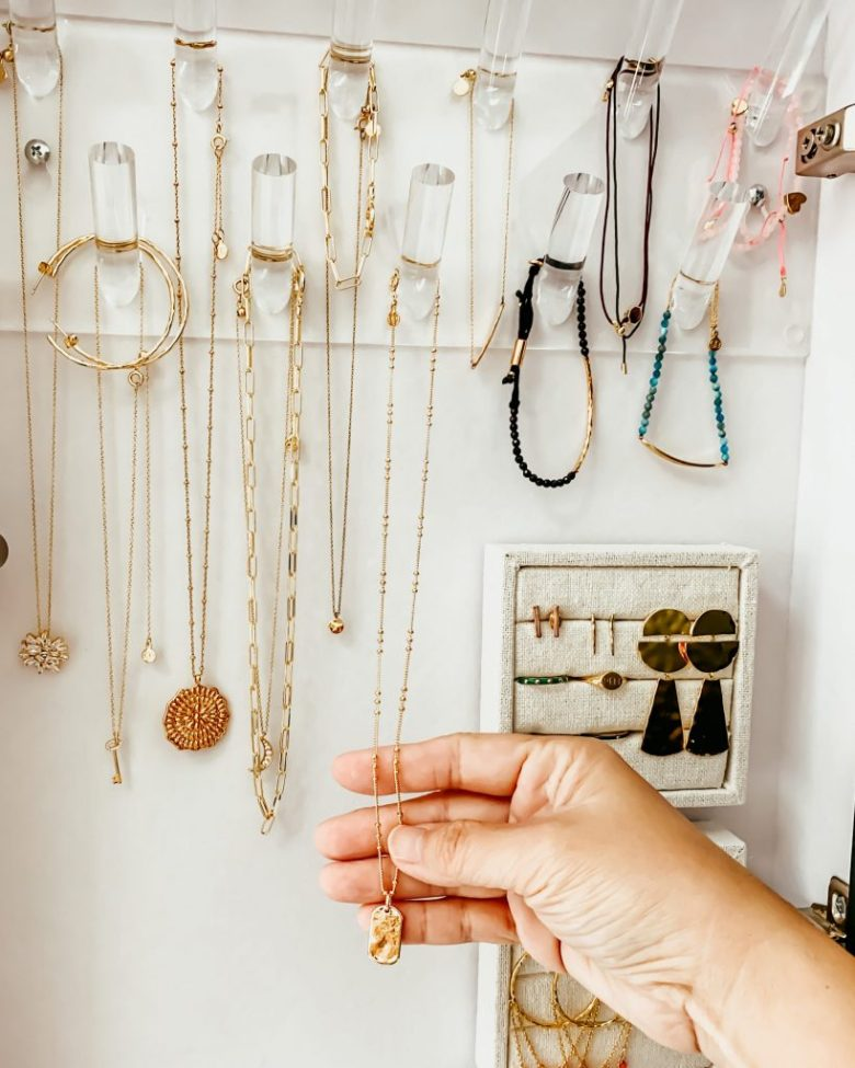 Anita Yokota method diy hidden jewelry cabinet