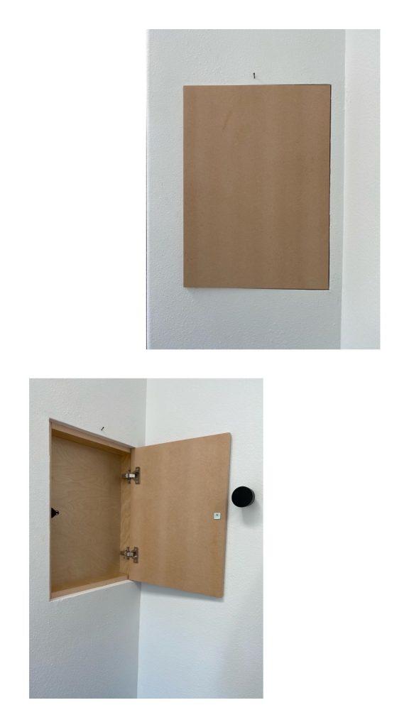 Anita Yokota method hidden jewelry cabinet DIY