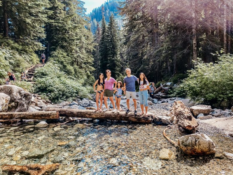 The Yokota family takes on the wilderness, together!
