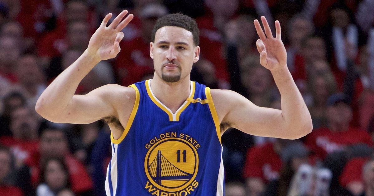 The Warriors have been unbeatable since Klay Thompson fulfilled a weird autograph request – ANITH