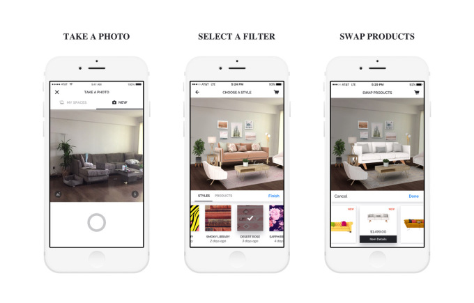 hutch the virtual interior design app has raised 10m from zillow