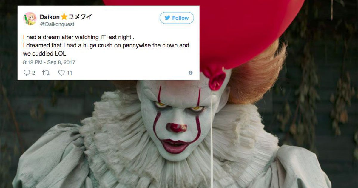 Pennywise From It Is The Internet S New Crush And It S