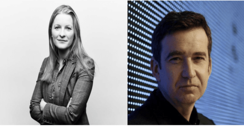 Áine Kerr and Mark Little are the co-founders of Neva Labs.