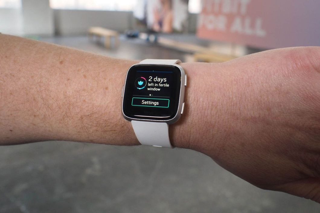 Female health tracking comes to Fitbit smartwatches in May.